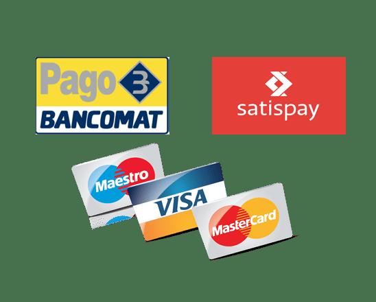 Tipi di pagamento accettati